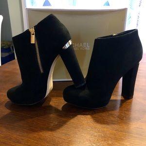 MICHAEL Michael Kors Haven Suede Ankle Boots
